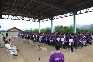 ボランティア開始式