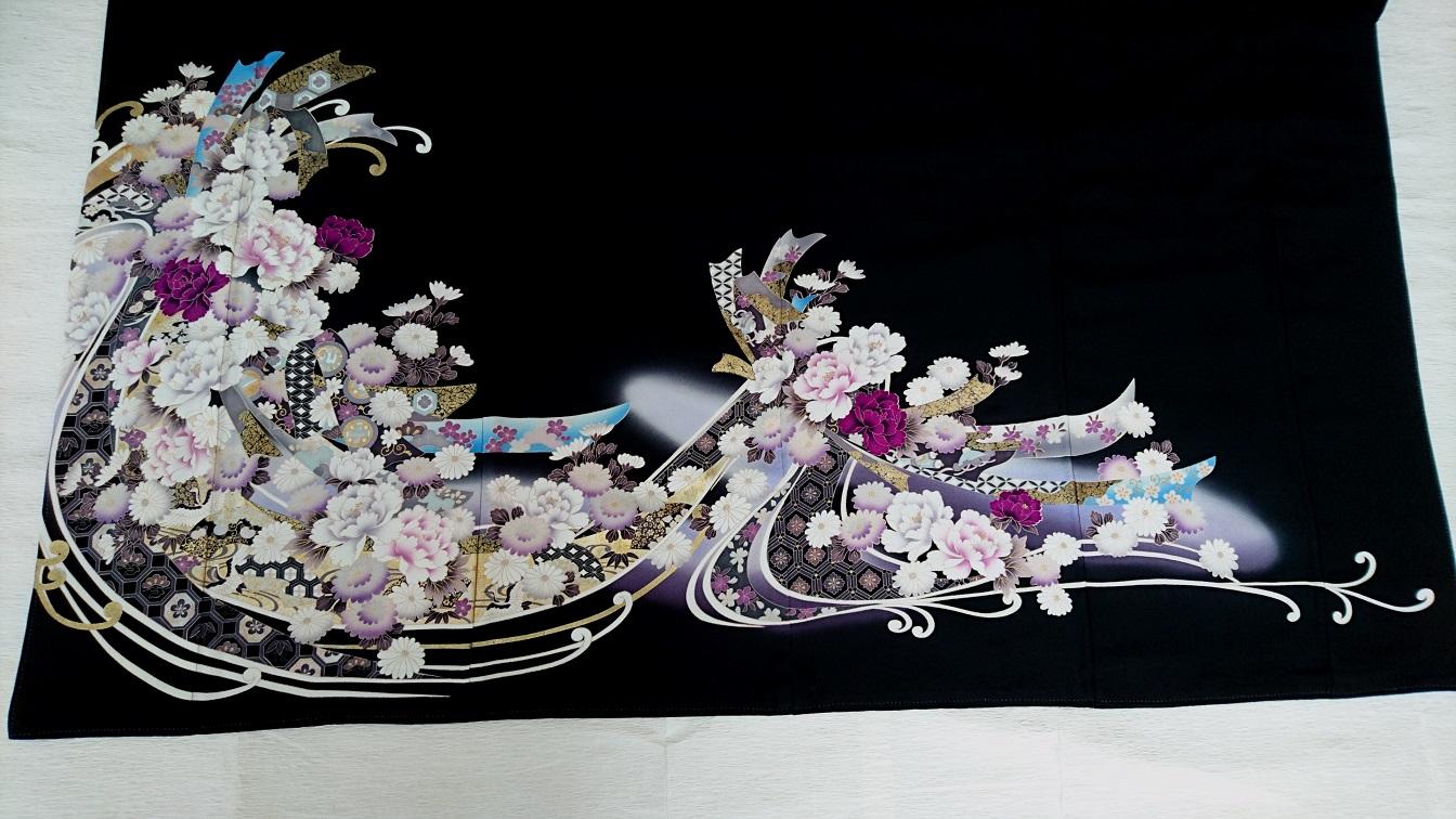 紫熨斗牡丹